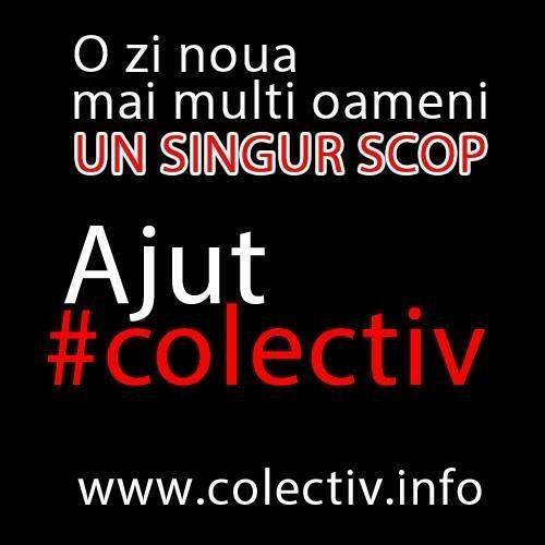 apel umanitar Colectiv